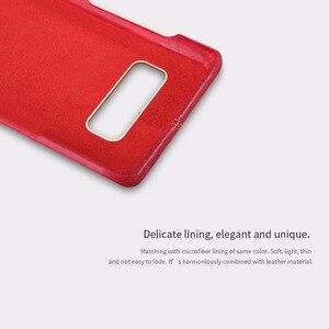 Image 3 - غطاء جلد انجلون من نيلكين لهواتف سامسونج جالاكسي نوت 8 غطاء خلفي فاخر عتيق مناسب للهواتف وسامسونج نوت 8