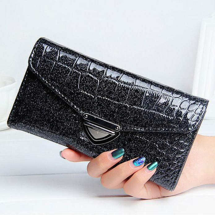 Women Wallets Good Quality Alligator PU Leather Lady Purses Handbags Woman Clutch Moneybags Coin Purse Cards Holder Wallet Bags 2017 new women wallets cute cartoon bear lady purse pu leather clutch wallet card holder fashion handbags drop shipping j442