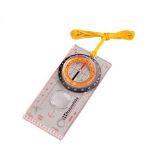 Wholesale Brand Camping Directional Cross-country Race Hiking Special Compass Baseplate Ruler Map Scale Compass