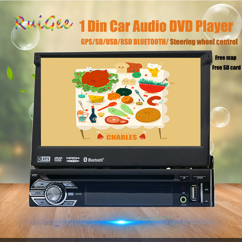 1 din radio car dvd player gps navigation tape recorder autoradio cassette player for car radio gps multimedia payer free camera image