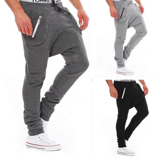 Мужская Корейской Тонкий брюки приток низкосортных дизайн продукта моды случайные штаны