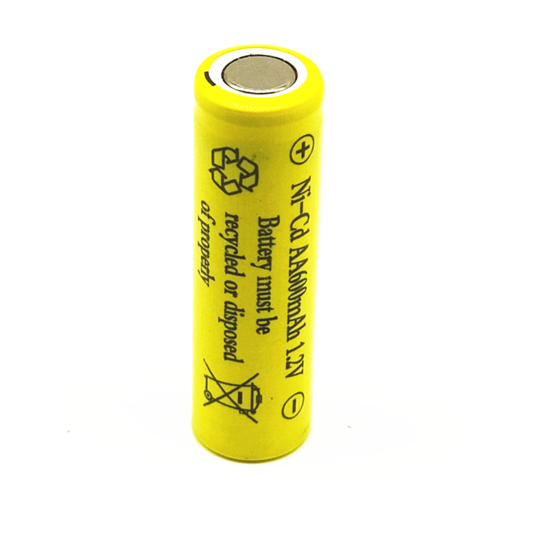 DIY 600mAh Ni-CD AA Battery NI-CD 1.2V 2.4V 3.6V 4.8V 2A Rechargeable Battery Batteries Free Shipping