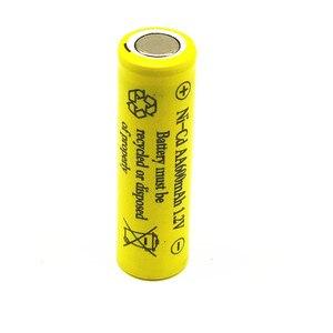 DIY 600mAh Ni-CD AA Battery NI-CD 1.2V 2.4V 3.6V 4.8V 2A rechargeable battery batteries Free shipping(China)