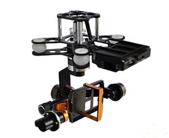 Walkera G-3DH 3-Axis Aerial Photography Brushless Gimbal 360 Degrees Tilt Control for GOPRO HERO3/3+/4 Camera iLOOK+ Sport Camer walkera g 2d camera gimbal for ilook ilook gopro 3 plastic version