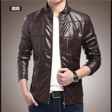 Brand Motorcycle Leather Jackets Men Autumn and Winter Leather Clothing Men Leather Jackets Male Business casual Coats 2016 New