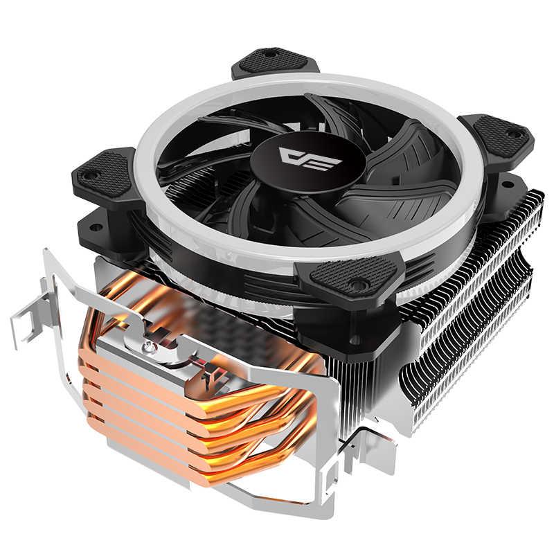 Aigo darkflash L5 LED CPU Kühler Kühler TDP 285 W Kühlkörper AMD Intel Stille 120mm 4Pin PC CPU kühlung Kühler Kühlkörper Fan