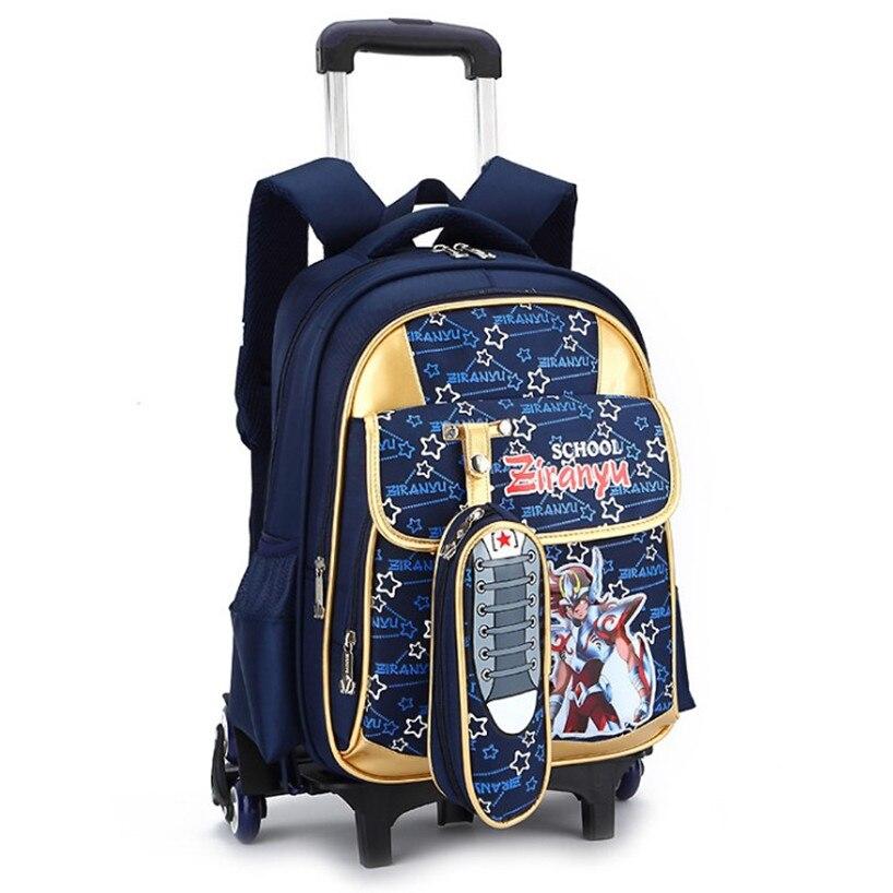 Школьный рюкзак со съемной тележкой эдельвейс-4 рюкзак