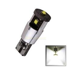 1 шт. чистый белый W5w T10 Светодиодные лампы 194 168 15 Вт Canbus чипы высокой мощности лампа автомобильный светильник источник DRL внутренний светильник DC 12 В