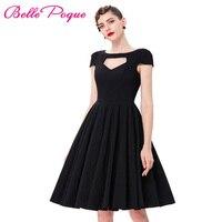 Women Summer Dress Rockabilly 2016 Audrey Hepburn Jurken Party Gowns Sexy Robe Pinup Casual Dresses Vestidos