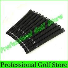 Снаряжение утюги рези захваты гольфа ручки качества гольф высокого шт./лот черный