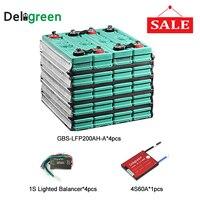 Литиевый эквалайзер батареи защищает перезаряжаемый 3,2 V Номинальный 12 V 200ah литиевая батарея с 4S 60A lipo bms pcm