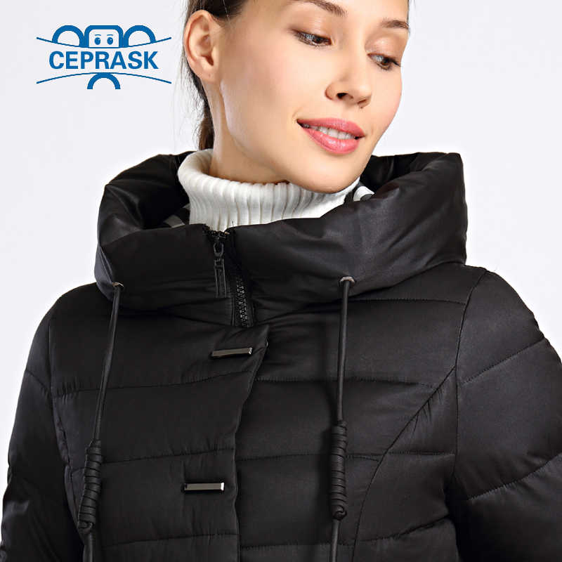 f9c4bad0912 ... 2018 New Winter Jacket Women Plus Size Long Thick Womens Winter Coat  Hooded High Quality Warm