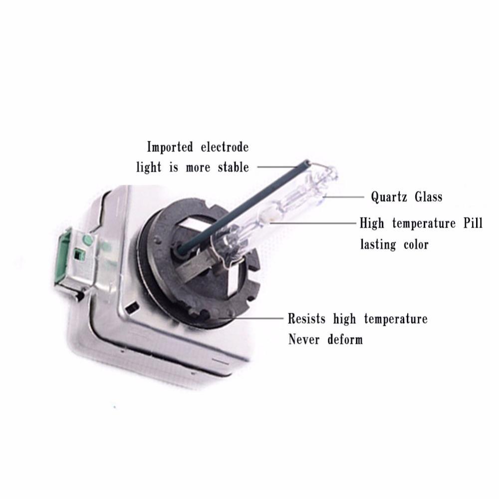 Bir cüt 35W Xenon Lampa D1S D1C Avtomobil Lampasının - Avtomobil işıqları - Fotoqrafiya 3