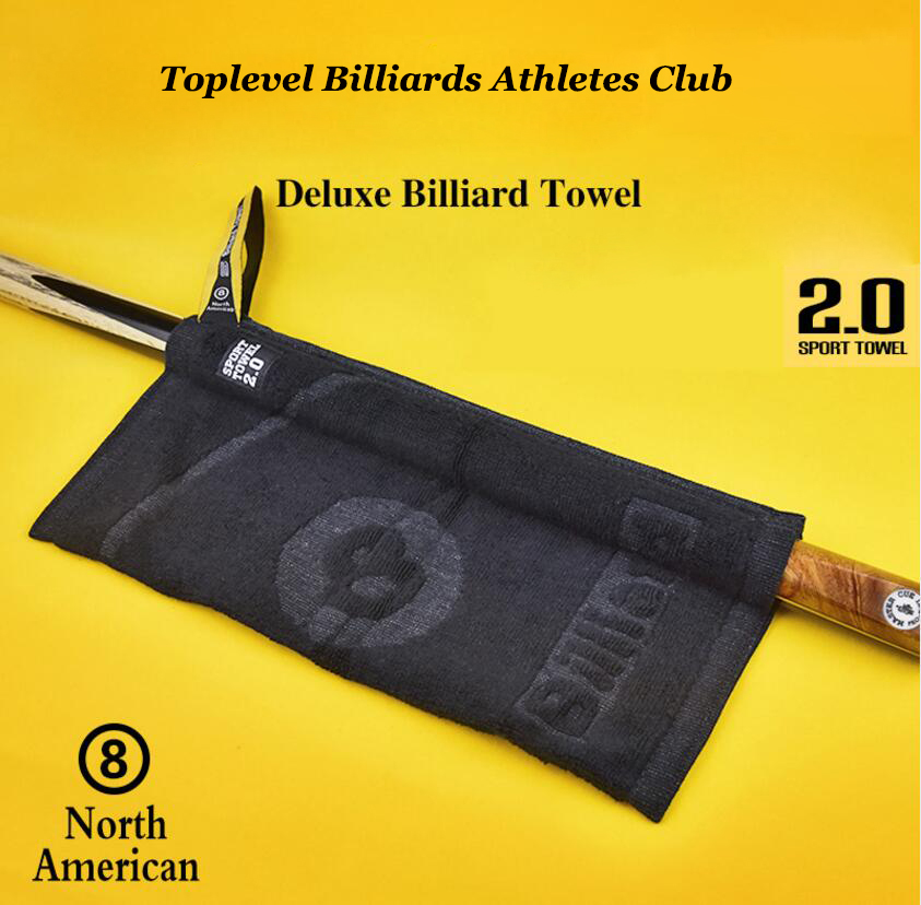 New Billiard Cleaning Cloth Towel Pool Cue Cleaning Snooker Cue Cleaning Towel Billiard Accessories Multifunction Cloth Cleaning