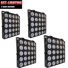 4pcs/lot 25 pcs 10W Stage Beam Light LED Matrix Blinder Wall Panel 5x5(China)
