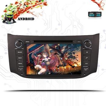 "8 ""Android 10.0Car DVD Multimedia GPS Radio para Nissan Sylphy/Sentra/Pulsar B17 2012, 2013, 2014, 2015, 2016, 2017, 2018 de Audio estéreo"