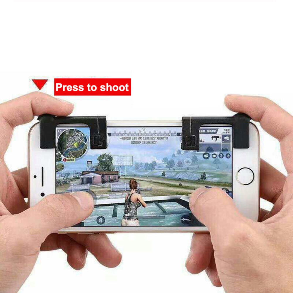 1 pair Mobile Gaming Trigger for Knives out Rules of Survival Mobile Game Sharp Shooter Controller special edition 4.0 version