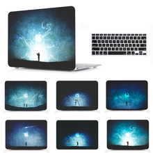 Laptop Protective Hard Shell Case Keyboard Cover Skin Set For Fit 11 12 13 15 Apple Macbook Air Pro Retina Touch Bar A1706 ST starry night oil painting sleeve for air 11 12 13 pro 13 15 retina crystal clear hard back cover protective case touch bar a1706
