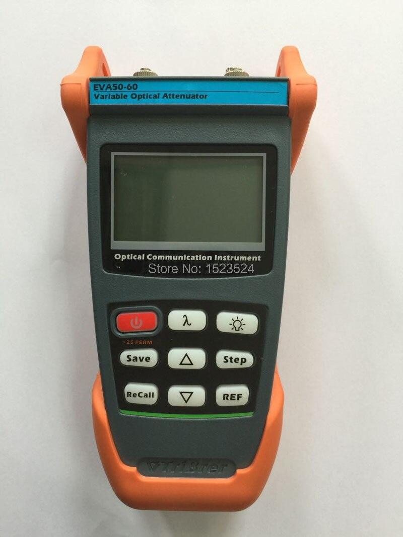 Free Shipping 0-60dB 1310nm/1490nm/1550nm Handheld Digital Fiber Optical Variable Attenuator
