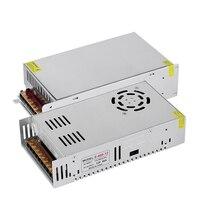 12V 24V 480W 600W güç kaynağı ledi sürücü AC110-220V to DC12V / 24V adaptörü aydınlatma trafo