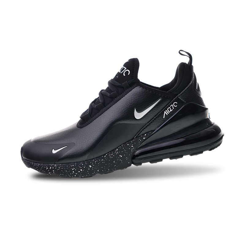 1a25dbe1f2a32 ... Nike Air Max 270 Premium All Black Men's Running Shoes Sports Shoes  AH8050-202 40 ...