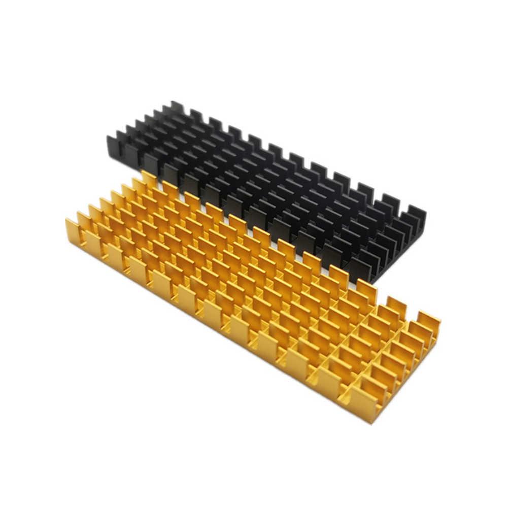 厚さコンピュータ熱導電性アルミハードドライブ交換超薄型ヒートシンクアクセサリー SSD クーラーため NVME 2280