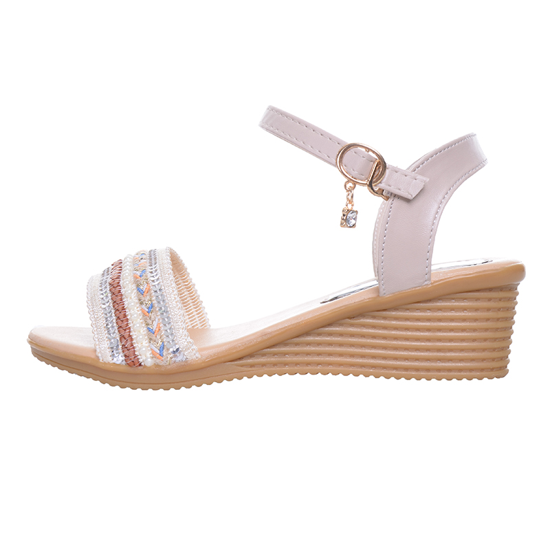 2e1133572 HEE GRAND Cute Women s Sandals Open Toe Concise Design Summer Style Student  Wedge Sandals for Woman XWZ4147-in Women s Sandals from Shoes on  Aliexpress.com ...