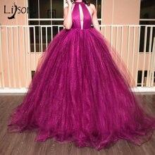 Женское вечернее платье пачка Пышное Бальное Платье цвета фуксии