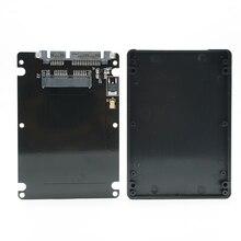 1.8″ Micro SATA 16pin SSD to 2.5″ SATA 22Pin 7+15 Hard Disk Case Enclosure