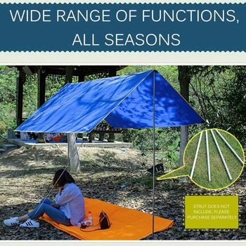 4-6 Persons Ultralight Multifunctional Waterproof Camping Mat Tent Tarp Footprint Ground Mat For Outdoor Camping Hiking Picnic 3