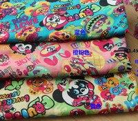 140*100 CM Japão Desenhos Animados do Coelho Panda jam GRANDE CHÃO Tecido de algodão Criança Roupas de Bebê Cachecol Diy Handmade Artesanato Bolsa Colcha de casa