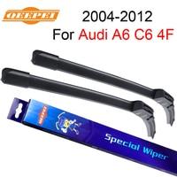 QEEPEI Windscreen Wiper For Audi A6 C6 4F 2004 2012 22 22 Wipers Blade Accessories Auto