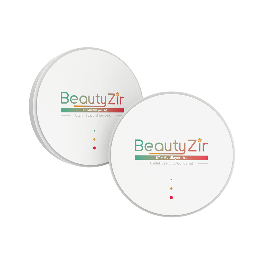 Image 2 - dental multilayer zirconia disk A1 D4 16 colors thickness 10 25mm for cad cam-in Teeth Whitening from Beauty & Health