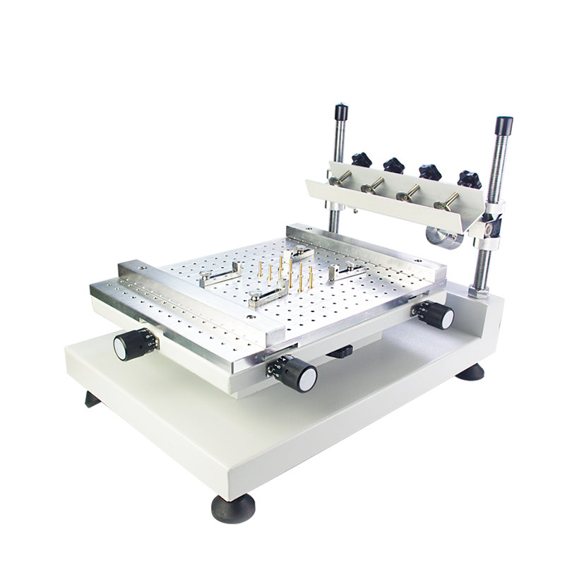 Zhengbang Silk Screen Printing Manual High Precision Manual Solder Paste Printing Machine Smt Screen Fingerprint