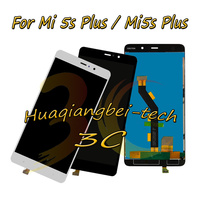 5 7 New For Xiaomi Mi5S Plus Mi 5s Plus Full LCD DIsplay Touch Screen Digitizer