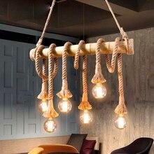 3pcs/lot hemp rope lamp holder retro style e27 pendant bulb socket vintage industrial light base for art decoration