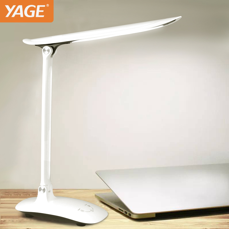 YAGE Desk Lamp Led Table Lamp book Light night light reading light for Study Lamp for Work Non-Limit Brightness Touch On / Off book light night light reading light battery desk light lamp flexible table lamp with clip super bright flashlight for camping
