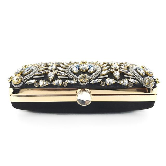 Exquisite Luxury Diamond Rhinestone Clutch  5