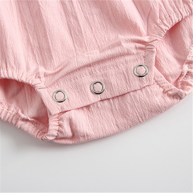 Summer Baby Girl Clothes 100% Cotton Onesie + Caps Outfits For Newborn Bebe Clothing Suits White Ruffle Sleeves Infant Bodysuits