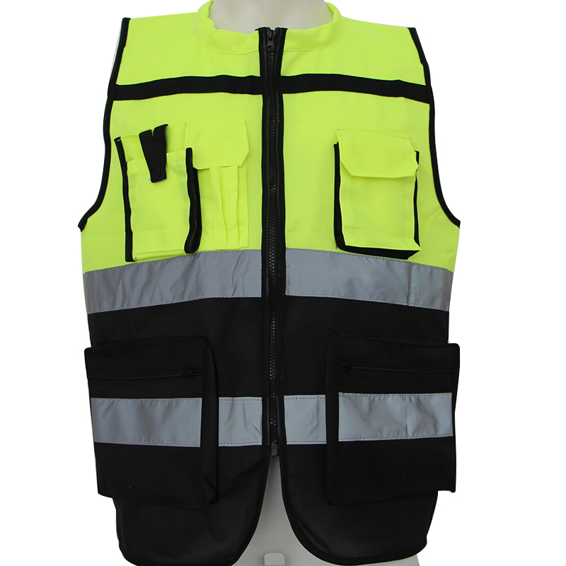 Reflective Vest Outdoor Sports Camping Safety Vest Night / Night Riding / Traffic Police / Sanitation Warning Work ClothesBX013a high quality chinese traffic reflective safety vest safety waistcoat sanitation reflective clothing working vest