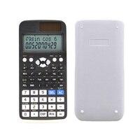 Портативный Черный ABS дисплей научный калькулятор ручной многофункциональный цифровой счетчик для студентов Calculatore инструмент