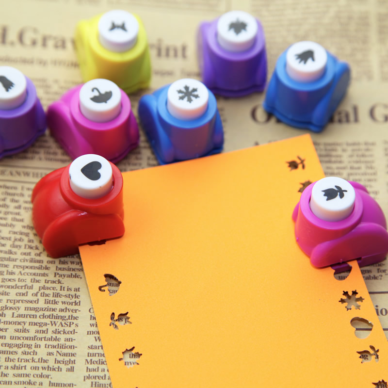 Scrapbook Punch Handmade Cutter Card Craft Calico Printing Flower Paper Craft Punch Hole Puncher Embosser DIY Toys 16-30 Styles
