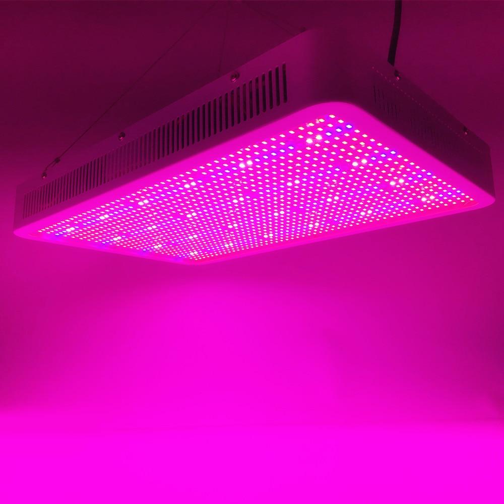 1200W пълен спектър LED светлини за растеж UV инфрачервени сини хидропоника оранжерийни зеленчуци цветя превъзходни добив растения лампа растат кутия