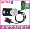 New Vci 2014R2 with Keygen New Relay CDP with Bluetooth Car Trucks Diagnostic Tool TCS CDP Pro Plus Green Board PCB OBD2 Scanner