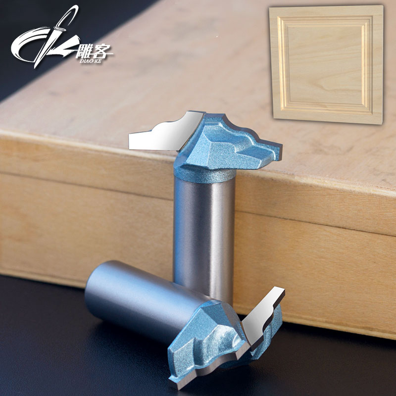 1PCS 12.7mm SHK Woodworking Tool Classical Plunge  Router Bit  Door Edge  Router Bit 1pcs 6mm shk up
