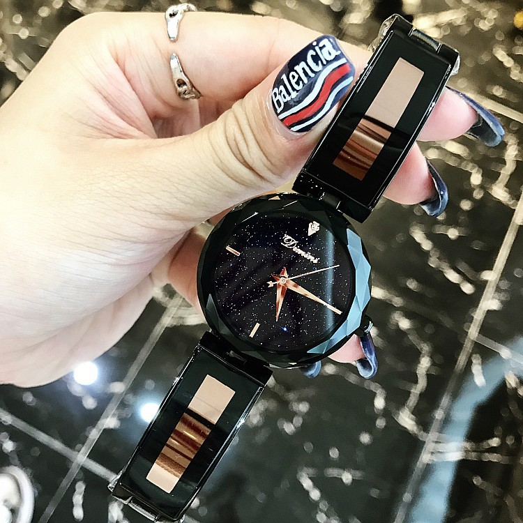 2018 New Luxury Brand lady Crystal Watch Women Dress Watch Fashion Rose Gold Quartz Watches Female Stainless Steel Wristwatches new fashion watch women luxury brand quartz watch women stainless steel dress bracelet wristwatches hours female clock xfcs
