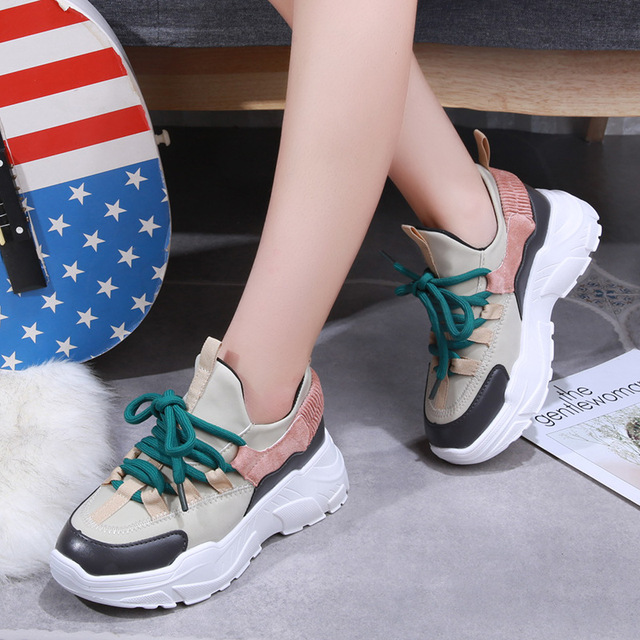 Platform Sneakers - 2 Colors 5