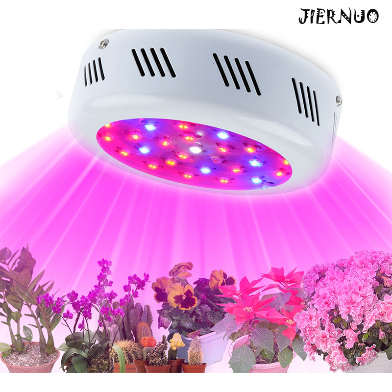 ФОТО NEW Double Chip 300W UFO Diamond II 410-730nm Full Spectrum Medical LED Grow Light  For Indoor Plants Flower Phrase Fitolampa