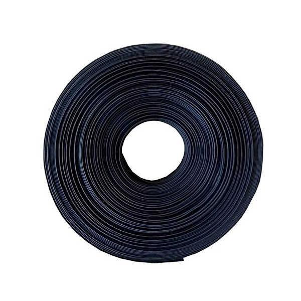 Черная термоусадочная трубка электрическая оплетка автомобильный кабель/провод термоусадочная трубка обертывание, 3 мм, 1 м