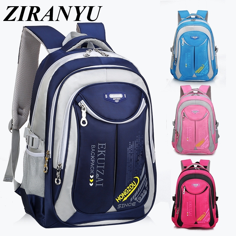 Fashion Children School Bags For Boys Girl Waterproof Backpacks For Teenagers Large Capacity Rucksack 2 Sizes Mochila Infantil